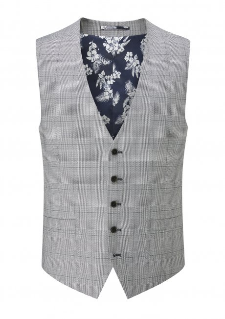 buy Anello Tailored fit Stretch V Waistcoat