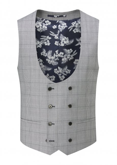 buy Anello Tailored fit DB Stretch Waistcoat
