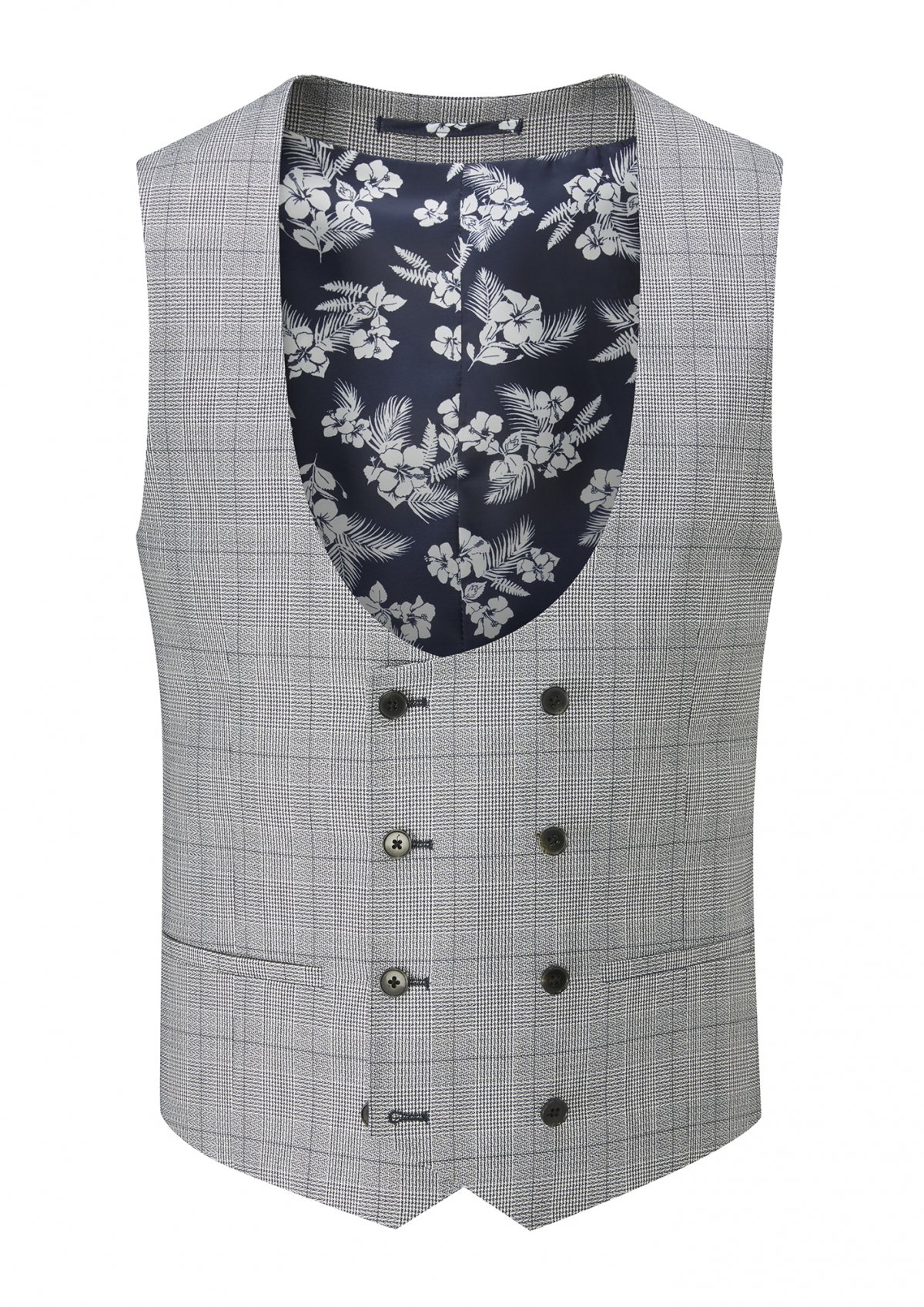 Anello Tailored fit DB Stretch Waistcoat